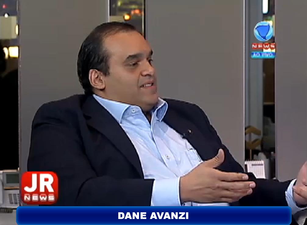 Dane Avanzi na Record News fala a favor da regulamentação do Uber no País