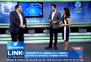 Dane Avanzi fala sobre o futuro da moeda digital na Record News