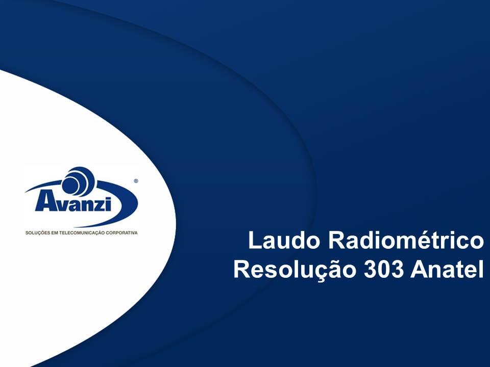 Laudo radiométrico resolução 303