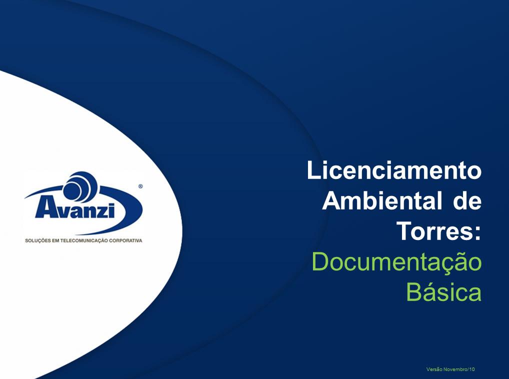 Licenciamento Ambiental de Torres Estado de Goiás