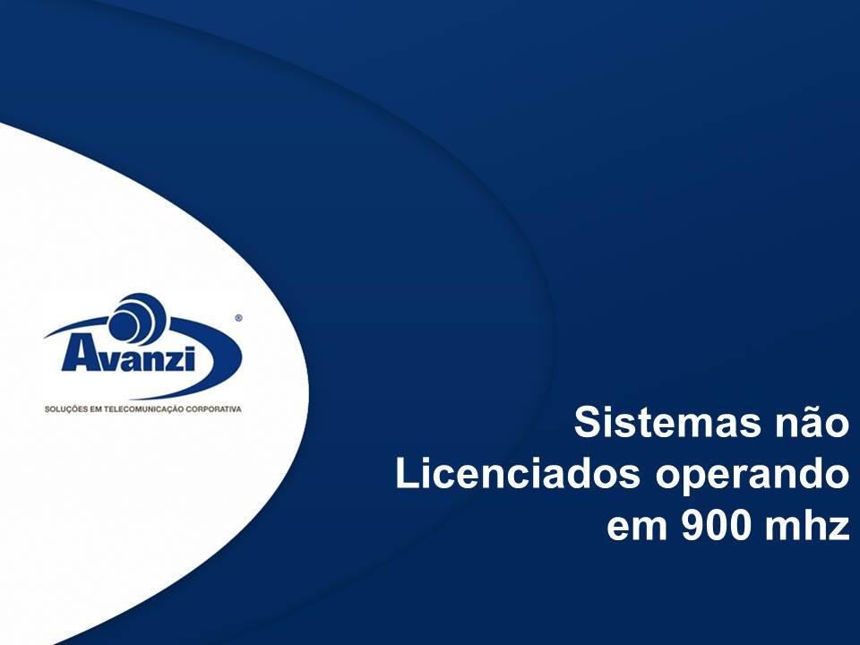 Sistemas não licenciados operando em 900 mhz