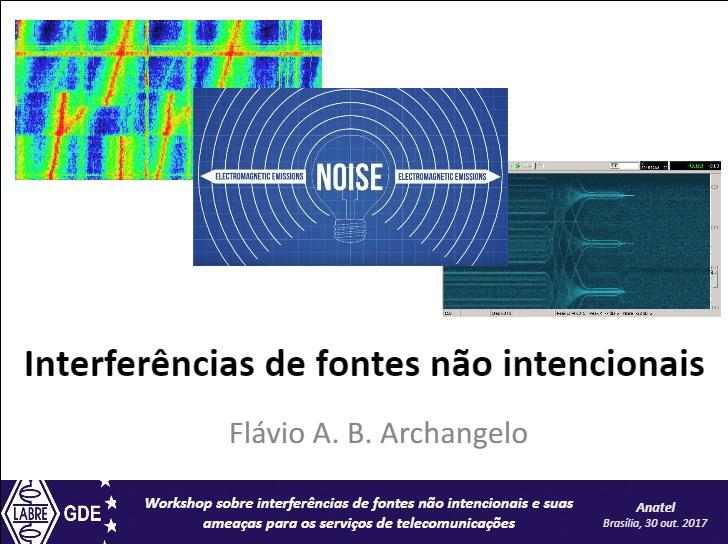 Interferências de Fontes não intencionais