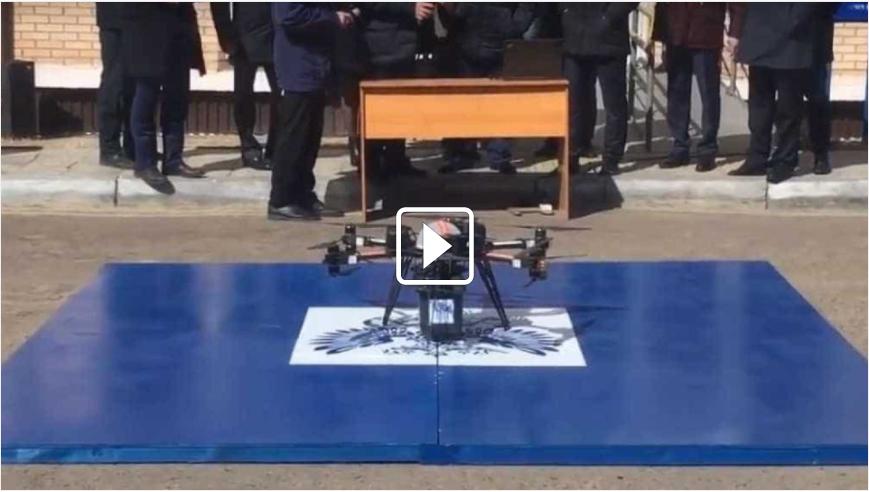 Primeira entrega de correio por drone na Rússia - Notícias Minuto