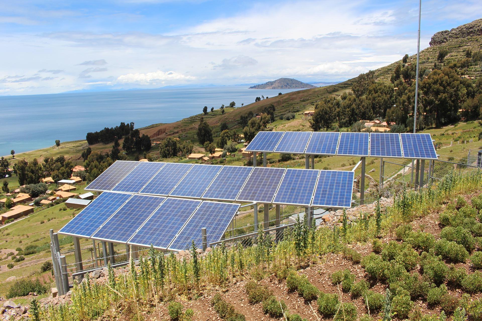 Captação de Energia Solar - Grupo Avanzi