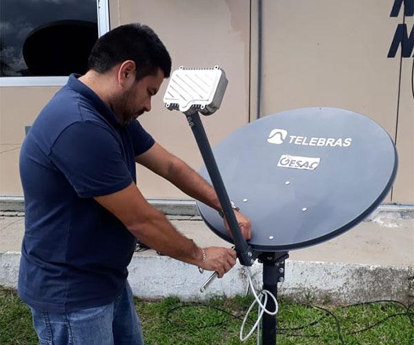 Telebras desativa conexões via satélite - Grupo Avanzi