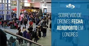 drones-fecham-aeroporto-em-londres