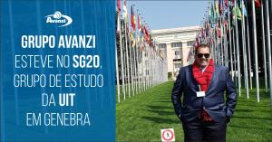 Grupo Avanzi esteve no SG20, Grupo de Estudo da UIT em Genebra