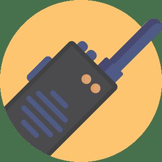 Radio Comunicador Pequeno